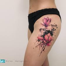 M A G N O L I A татуировка в виде лотоса Tattoos Magnolia