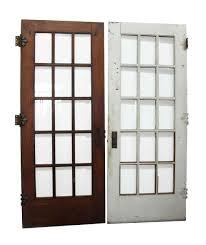 15 beveled glass panel french door