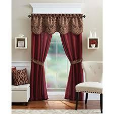 better homes and garden curtains. Better Homes And Gardens Medallion 5-Piece Curtain Panel Set, Brick Garden Curtains D
