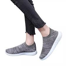 Auburyshop Women Outdoor Mesh Solid Color Sports Shoes Runing Breathable Shoes Sneakers Reference Size Chart