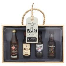 rum tasting selection gift set