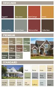 Mitten Siding Color Chart Siding