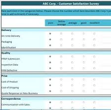 customer service satisfaction survey examples free example of a voice the customer survey satisfaction template