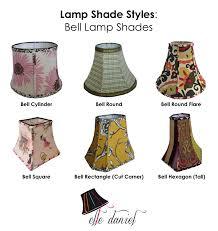 styles of lighting. Modren Lighting Bell Lamp Shades Intended Styles Of Lighting