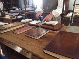 of functions since relying on the bookbinding trade alone was not an option due to the high cost of bound books and the lack of demand for such items