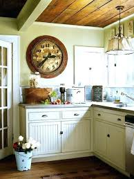antique wall clock cottage kitchen design ideas small clocks add style and decor to your decorative audacious small kitchen wall clock