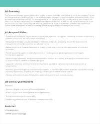 Resume Template 2019 Job Description Template Resume Template 2019