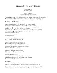 Manual Testing Resume Sample Best Of Manual Testing Resume Samples Manual Testing Sample Resume Tester