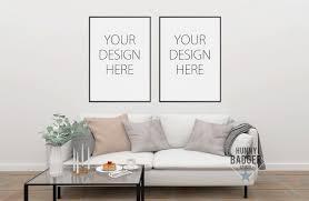 Design A Photo Wall Online Interior Mockup Blank Wall Frame Online Shop Blog