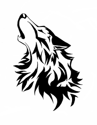 tribal wolf howling silhouette. Commision Howling Wolf By Wolfsouled Image Vector Clip Art Inside Tribal Silhouette