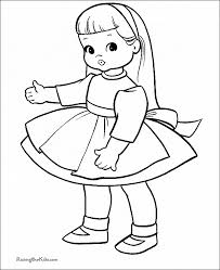 American Girl Doll Coloring Page Printable Looby Loo Is Playing With