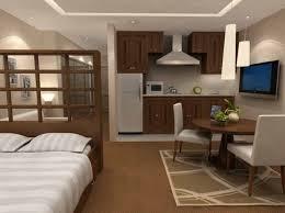 Small Studio Apartment Design White Sofas Black Sofas Small Table Small Studio Apartment Design