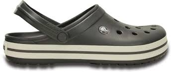 Crocs Size Chart Crocs Crocband Clogs Graphite White Men