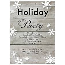 Corporate Holiday Party Invite Corporate Holiday Party Invitation On Barn Board