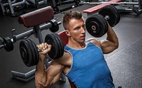 day dumbbell workout split