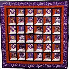Kathy's Quilts: Granddaddy Jones' Quilt & Granddaddy Jones' Quilt -- Atlanta Braves side Adamdwight.com