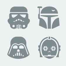 star wars template star wars characters free templates cerca con google