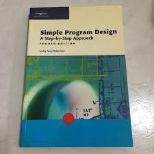 Simple Program Design Simple Program Design Books Stationery Textbooks