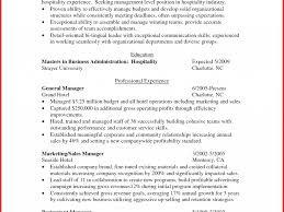 Resume Examples For Hospitality Industry Charming Decoration Hospitality Resume Skills Hospitality Sample 48