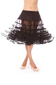 Malco Modes Color Chart Malco Modes Meghan Knee Length Net Crinoline For Stiff Structured Support Under Vintage Clothing And Rockabilly Wear