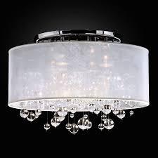 luxury glass bubbles ceiling light