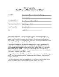 Sample Grant Proposal Non Profit Template Business