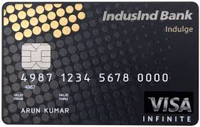 indusind visa credit card reviews