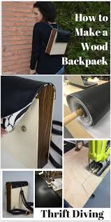 how to make a wood backpack materials needed include plywood exotic wood and