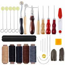 2019 leather craft stitching tool hand stitch needle awl thimble wax line for making bags from bobo85k 17 25 dhgate com