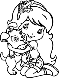 Small Picture Girl Dog Coloring Pages Coloring Pages