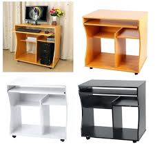 small portable office. Creative Designs Portable Office Desk Small Trailers Home Wooden Computer Trolley