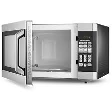 ft digital family size microwave oven stainless steel