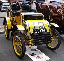 1901 4 hp two seater voiturette