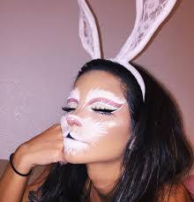 bunny costume makeup rabbit