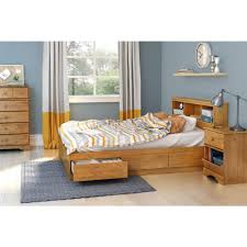 South Shore Little Treasures 3-Drawer Country Pine Full-Size Storage ...
