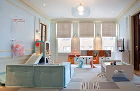 View in gallery Sleek, contemporary take on the kids' playroom