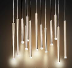 contemporary pendant lighting fixtures. Pendant Light LED Single Lamp Long Bar Design Saving Energy Golden OR Black Aviation Aluminum D3 H30 Or 50CM High Lumun Modern-in Lights From Contemporary Lighting Fixtures R