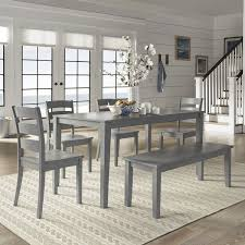 gray dining room table. Shop Wilmington II 60 Inch Rectangular Antique Grey Dining Set By Gray Room Table U