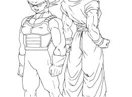 Dragon Ball Coloring Pictures Super Coloring Pages Dragon Ball Z