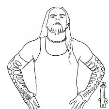 Small Picture Realistic Jeff Hardy Sketch Printable To Color Famous People