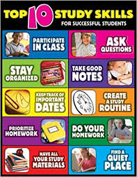 Study Chart For Students Top Ten Study Skills For Successful Students Cheap Chart
