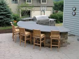 outdoor kitchen ideas landscape design montgomery county pa outdoor kitchen with bluestone countertop