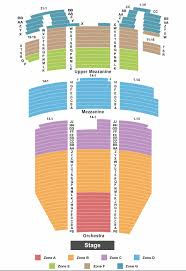 5th Avenue Theater Seating Chart Seattle