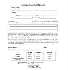 Vendor Agreement Form - Kleo.beachfix.co