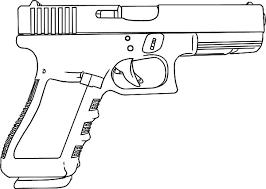Small Picture Machine Gun clipart coloring picture Pencil and in color machine