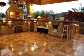 full size of grill area on deck with pavers outdoor kitchens our wood fire