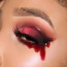 gory eye makeup