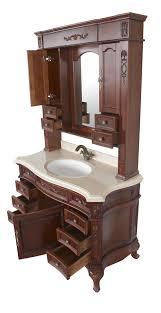 Antique Bathroom Cabinets Constance Ii Antique Style Bathroom Vanity Single Sink 491