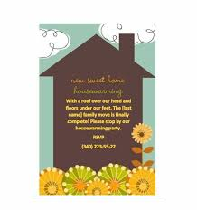 Housewarming Card Templates 40 Free Printable Housewarming Party Invitation Templates