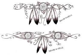 Dream Catcher Tattoo Sketch Girly Dreamcatcher Tattoos by Denise A Wells Native Ameri Flickr 66
